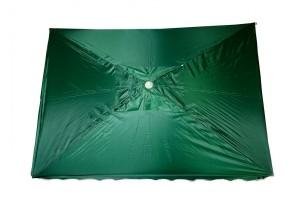 Зонт 3х4 метра (квадратный) с напылением (EM-36)
